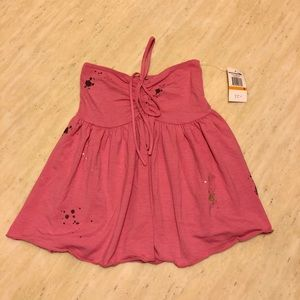 New Rocawear Tied Up Top in Pink Size Small